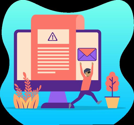 icono detección y mitigación de ataques de phishing