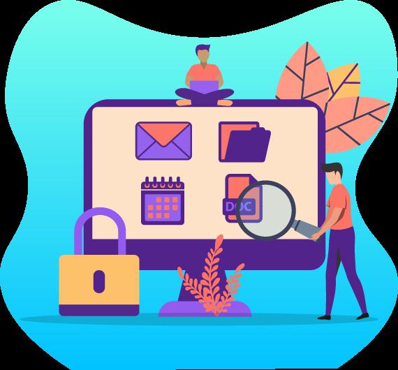icono de protección para aplicaciones office 365