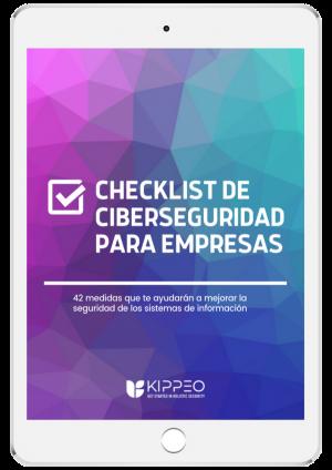 Ipad checklist de ciberseguridad para empresas